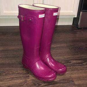 Hunter rain boots 💕